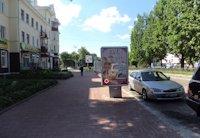 Ситилайт №202795 в городе Чернигов (Черниговская область), размещение наружной рекламы, IDMedia-аренда по самым низким ценам!