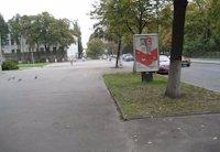 Ситилайт №202808 в городе Чернигов (Черниговская область), размещение наружной рекламы, IDMedia-аренда по самым низким ценам!