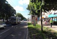 Ситилайт №202812 в городе Чернигов (Черниговская область), размещение наружной рекламы, IDMedia-аренда по самым низким ценам!