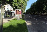Ситилайт №202813 в городе Чернигов (Черниговская область), размещение наружной рекламы, IDMedia-аренда по самым низким ценам!