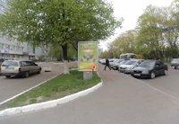 Ситилайт №202818 в городе Чернигов (Черниговская область), размещение наружной рекламы, IDMedia-аренда по самым низким ценам!