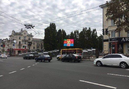 Экран №202963 в городе Чернигов (Черниговская область), размещение наружной рекламы, IDMedia-аренда по самым низким ценам!