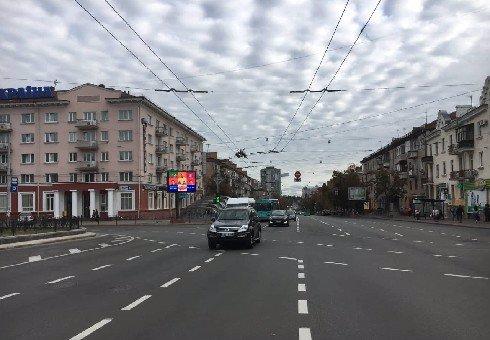IDMedia Наружная реклама в городе Чернигов (Черниговская область), Экран в городе Чернигов №202963 схема