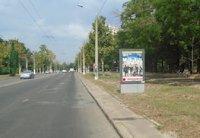 Ситилайт №202966 в городе Одесса (Одесская область), размещение наружной рекламы, IDMedia-аренда по самым низким ценам!