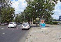 Ситилайт №202970 в городе Одесса (Одесская область), размещение наружной рекламы, IDMedia-аренда по самым низким ценам!