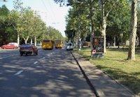 Ситилайт №202978 в городе Одесса (Одесская область), размещение наружной рекламы, IDMedia-аренда по самым низким ценам!