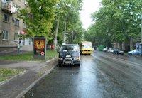 Ситилайт №202981 в городе Одесса (Одесская область), размещение наружной рекламы, IDMedia-аренда по самым низким ценам!
