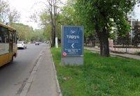 Ситилайт №202986 в городе Одесса (Одесская область), размещение наружной рекламы, IDMedia-аренда по самым низким ценам!