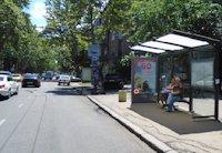 Остановка №203004 в городе Одесса (Одесская область), размещение наружной рекламы, IDMedia-аренда по самым низким ценам!