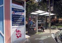 Остановка №203007 в городе Одесса (Одесская область), размещение наружной рекламы, IDMedia-аренда по самым низким ценам!