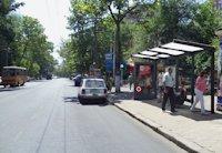 Остановка №203008 в городе Одесса (Одесская область), размещение наружной рекламы, IDMedia-аренда по самым низким ценам!