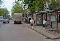 Остановка №203115 в городе Одесса (Одесская область), размещение наружной рекламы, IDMedia-аренда по самым низким ценам!