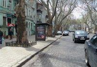 Остановка №203120 в городе Одесса (Одесская область), размещение наружной рекламы, IDMedia-аренда по самым низким ценам!