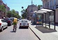Остановка №203157 в городе Одесса (Одесская область), размещение наружной рекламы, IDMedia-аренда по самым низким ценам!