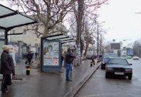Остановка №203180 в городе Одесса (Одесская область), размещение наружной рекламы, IDMedia-аренда по самым низким ценам!