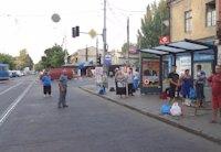 Остановка №203183 в городе Одесса (Одесская область), размещение наружной рекламы, IDMedia-аренда по самым низким ценам!