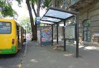 Остановка №203454 в городе Одесса (Одесская область), размещение наружной рекламы, IDMedia-аренда по самым низким ценам!
