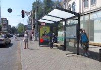 Остановка №203460 в городе Одесса (Одесская область), размещение наружной рекламы, IDMedia-аренда по самым низким ценам!