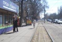 Остановка №203513 в городе Одесса (Одесская область), размещение наружной рекламы, IDMedia-аренда по самым низким ценам!