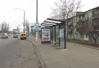 Остановка №203540 в городе Одесса (Одесская область), размещение наружной рекламы, IDMedia-аренда по самым низким ценам!