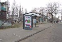 Остановка №203541 в городе Одесса (Одесская область), размещение наружной рекламы, IDMedia-аренда по самым низким ценам!
