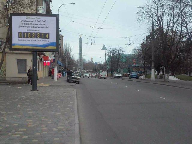 Бэклайт №204536 в городе Одесса (Одесская область), размещение наружной рекламы, IDMedia-аренда по самым низким ценам!