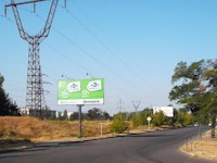 Билборд №205576 в городе Новая Каховка (Херсонская область), размещение наружной рекламы, IDMedia-аренда по самым низким ценам!