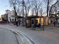 Остановка №206514 в городе Львов (Львовская область), размещение наружной рекламы, IDMedia-аренда по самым низким ценам!