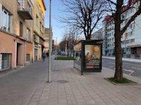 Остановка №206516 в городе Львов (Львовская область), размещение наружной рекламы, IDMedia-аренда по самым низким ценам!