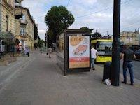 Остановка №206518 в городе Львов (Львовская область), размещение наружной рекламы, IDMedia-аренда по самым низким ценам!