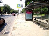 Остановка №206535 в городе Львов (Львовская область), размещение наружной рекламы, IDMedia-аренда по самым низким ценам!