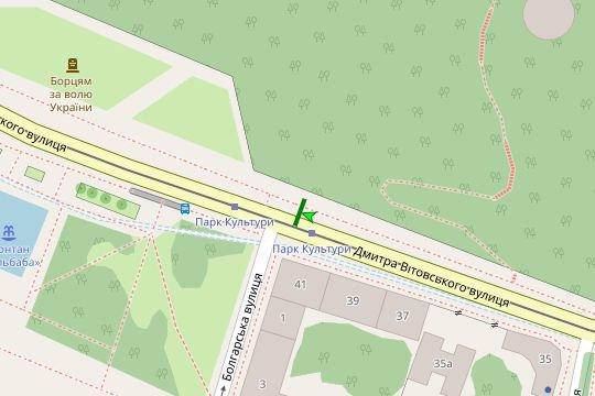 IDMedia Арендовать и разместить Остановку в городе Львов (Львовская область) №206535 схема