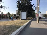 Ситилайт №206637 в городе Хмельницкий (Хмельницкая область), размещение наружной рекламы, IDMedia-аренда по самым низким ценам!