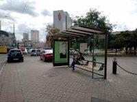 Остановка №207708 в городе Киев (Киевская область), размещение наружной рекламы, IDMedia-аренда по самым низким ценам!