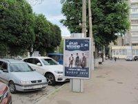 Ситилайт №207743 в городе Хмельницкий (Хмельницкая область), размещение наружной рекламы, IDMedia-аренда по самым низким ценам!