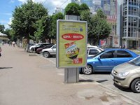 Ситилайт №207744 в городе Хмельницкий (Хмельницкая область), размещение наружной рекламы, IDMedia-аренда по самым низким ценам!