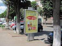 Ситилайт №207748 в городе Хмельницкий (Хмельницкая область), размещение наружной рекламы, IDMedia-аренда по самым низким ценам!