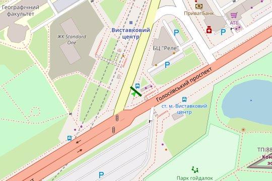IDMedia Арендовать и разместить Экран в городе Киев (Киевская область) №207766 схема