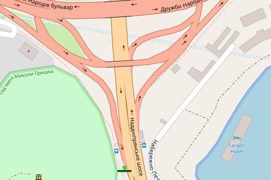 IDMedia Арендовать и разместить Экран в городе Киев (Киевская область) №207771 схема