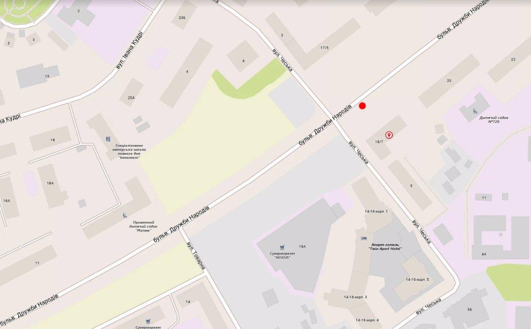 IDMedia Наружная реклама в городе Киев (Киевская область), Скролл в городе Киев №207846 схема