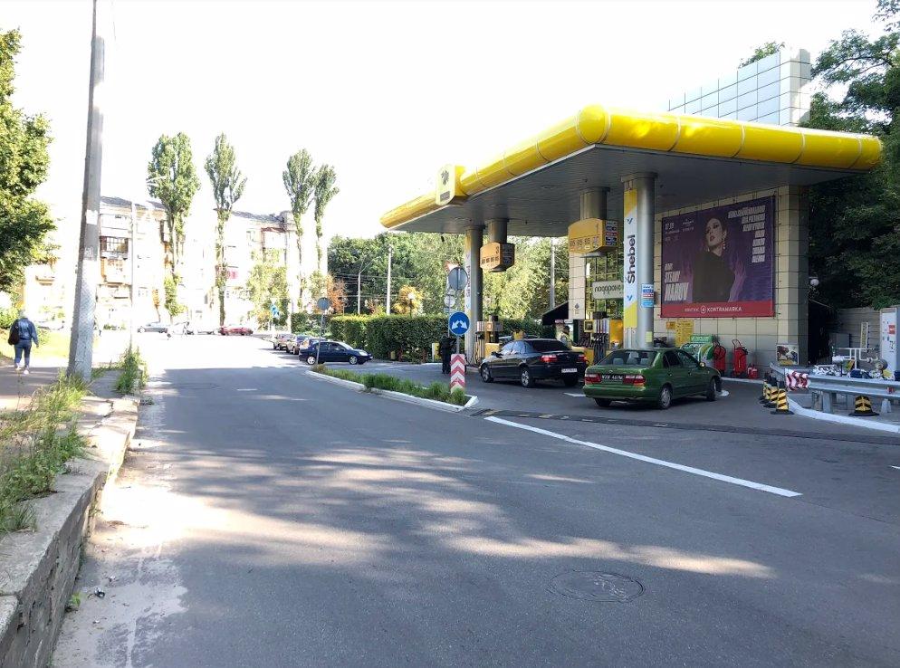 Брандмауэр №208138 в городе Киев (Киевская область), размещение наружной рекламы, IDMedia-аренда по самым низким ценам!