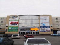 Брандмауэр №212797 в городе Запорожье (Запорожская область), размещение наружной рекламы, IDMedia-аренда по самым низким ценам!