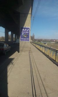 Ситилайт №212867 в городе Запорожье (Запорожская область), размещение наружной рекламы, IDMedia-аренда по самым низким ценам!