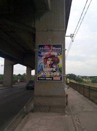 Ситилайт №212897 в городе Запорожье (Запорожская область), размещение наружной рекламы, IDMedia-аренда по самым низким ценам!