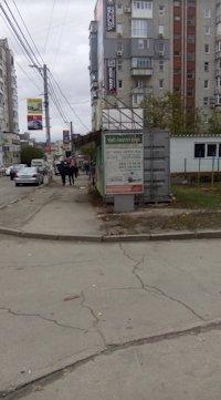 Ситилайт №213091 в городе Умань (Черкасская область), размещение наружной рекламы, IDMedia-аренда по самым низким ценам!