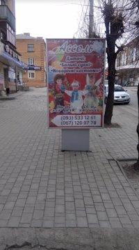 Ситилайт №213109 в городе Умань (Черкасская область), размещение наружной рекламы, IDMedia-аренда по самым низким ценам!