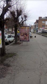 Ситилайт №213110 в городе Умань (Черкасская область), размещение наружной рекламы, IDMedia-аренда по самым низким ценам!