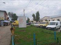 Ситилайт №213135 в городе Умань (Черкасская область), размещение наружной рекламы, IDMedia-аренда по самым низким ценам!