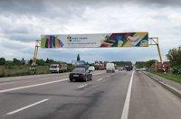 Арка №214293 в городе Львов трасса (Львовская область), размещение наружной рекламы, IDMedia-аренда по самым низким ценам!