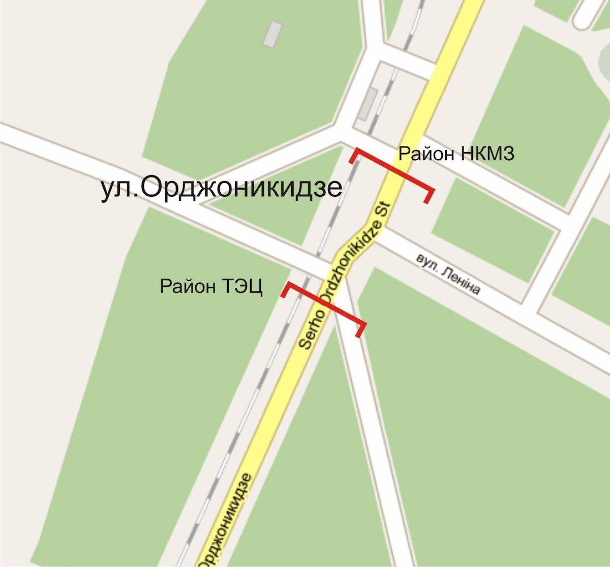 IDMedia Арендовать и разместить Арку в городе Краматорск (Донецкая область) №214369 схема